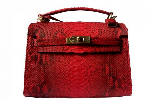 Red_Snake_Handbag-micheL olivia