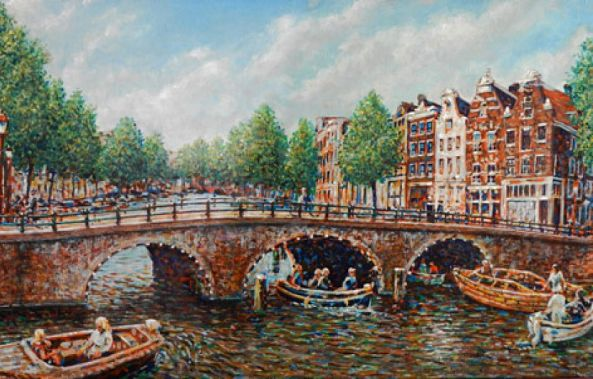 Summer on the water - Amsterdam-Shaun Herron