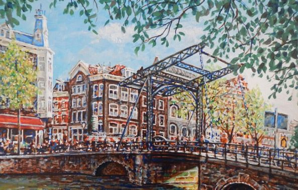 Steel bridge Over Steel Street-Shaun Herron