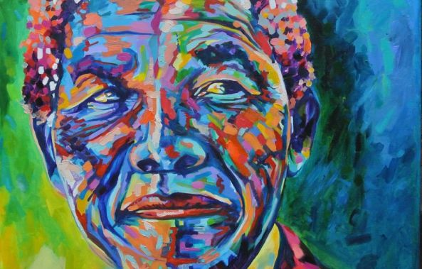 MY MANDELA IN MY EYES-Michelle Sacks