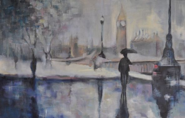 Along the Thames-Stephanie Fonteyn