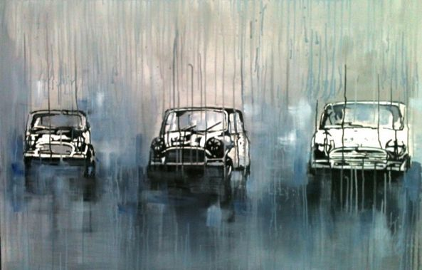 Minis racing in the rain-Stephanie Fonteyn