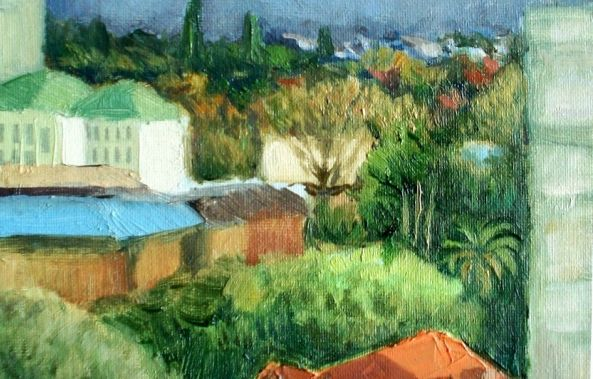 View from the studio-George Grim