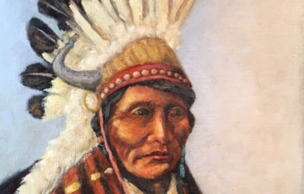 Native man/sold-Rebecca  Manns