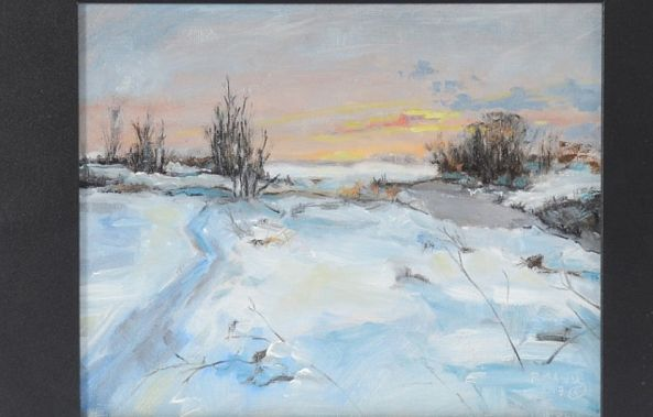 ohio winter /sold-Rebecca  Manns