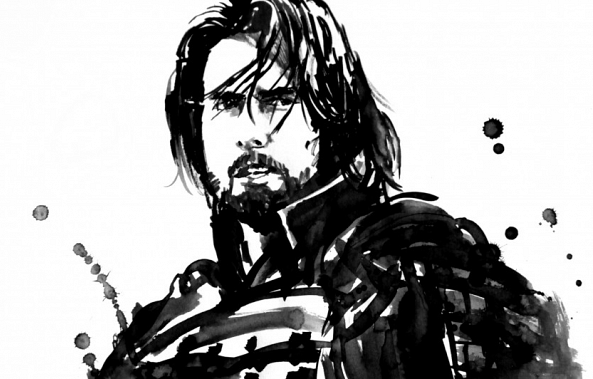 the last samurai 02-pechane sumi-e