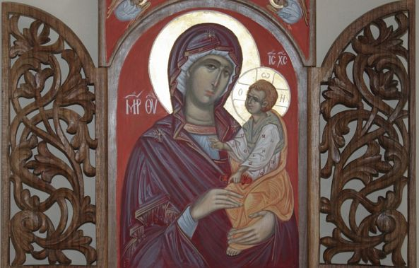 Mother of God with Jesus Christ-VANYA SAPUNDZHIEVA