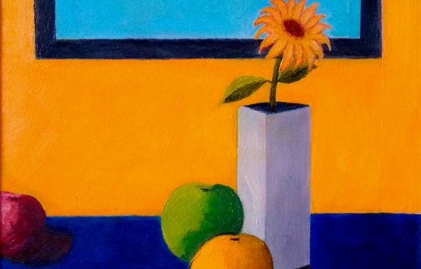 Apples and flower-Konstantinos Charalampopoulos