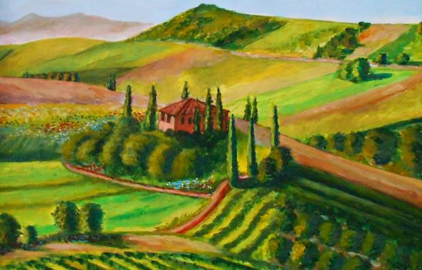 Fields of Tuscany-Konstantinos Charalampopoulos