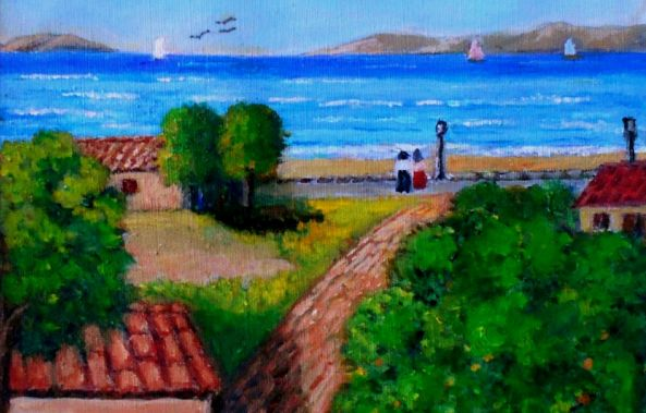 Beautiful seaside village-Konstantinos Charalampopoulos