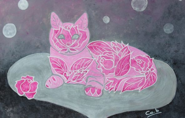 Chat-aux-roses -Corinne  Brossier