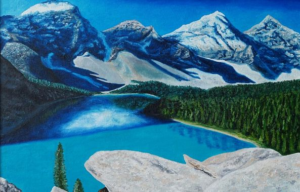 Canadian Rocky Mountains-Emil Kalinin