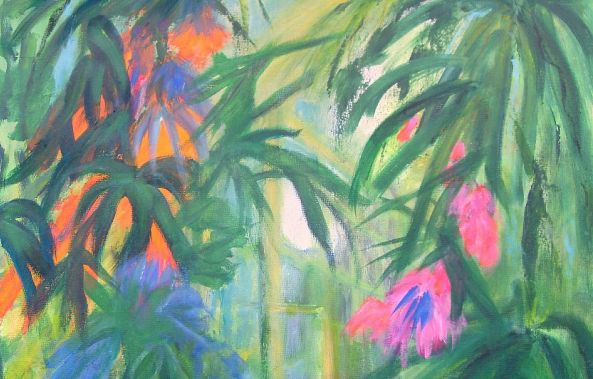 TROPICAL FLOWERS  no 2-Aase Lind