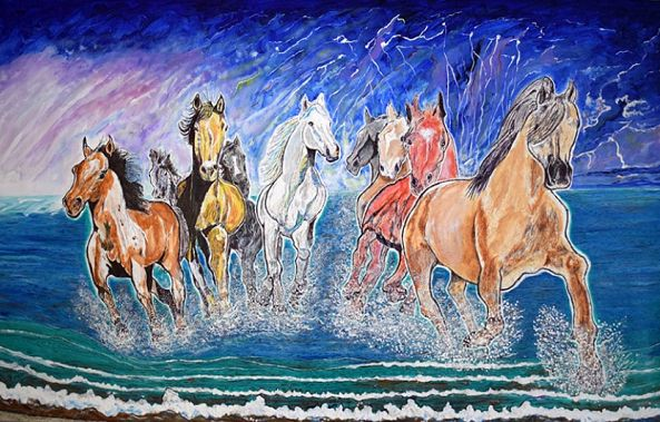 Magical Horses-Denis Roucau