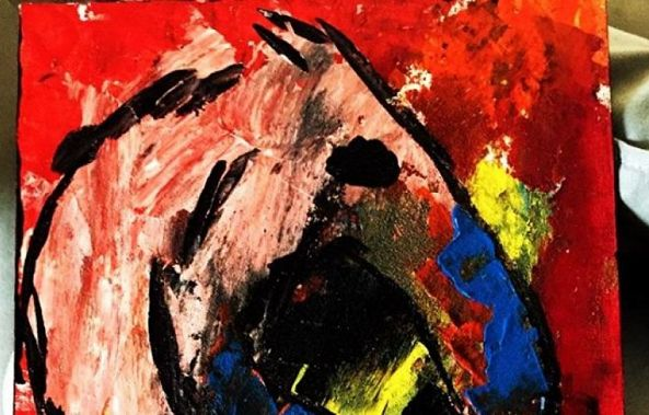 Abstract Horse-Miguel Alvarez
