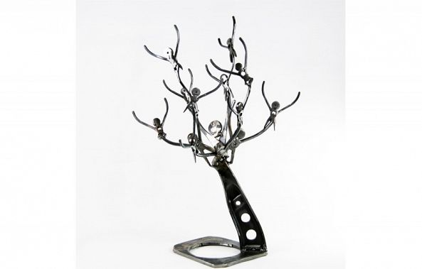 Tree metal art sculpture-Dendrinos gIANNIS