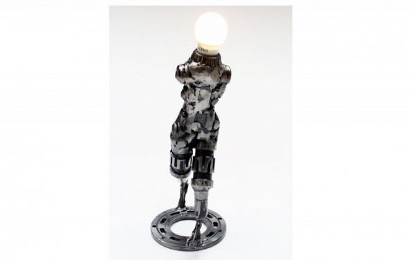 Robot metal art sculpture-Dendrinos gIANNIS