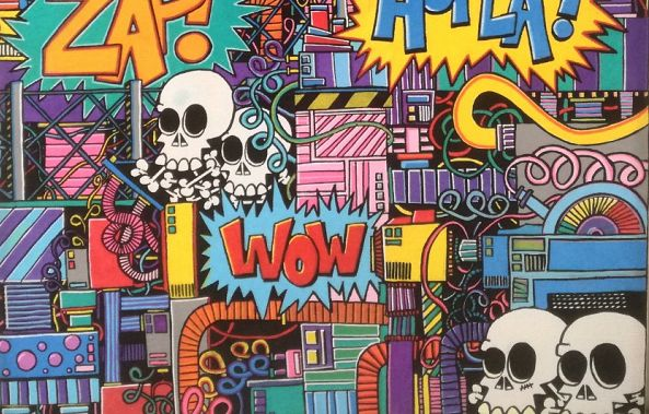 Cartoon Skull Factory-Phil Ruelle