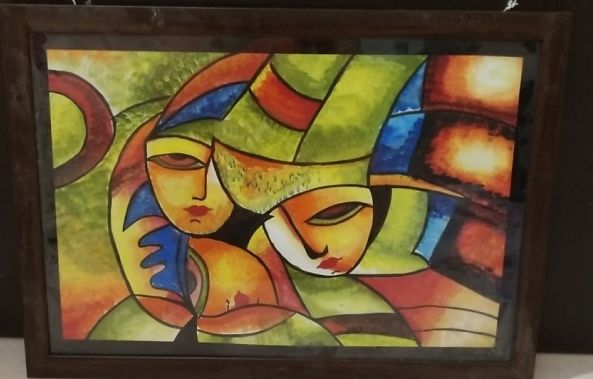 Colourful faces-Pushti Goswami
