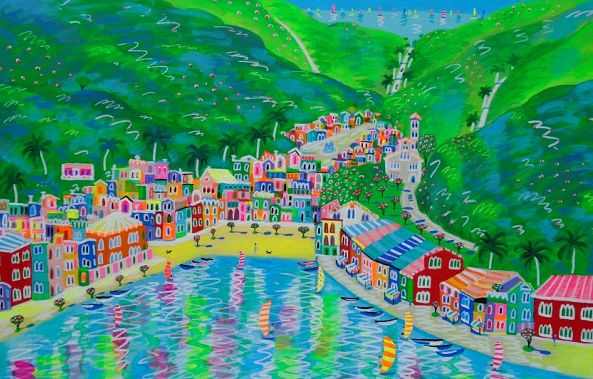 The Verdant Valley Of Positano-Katrina Avotina