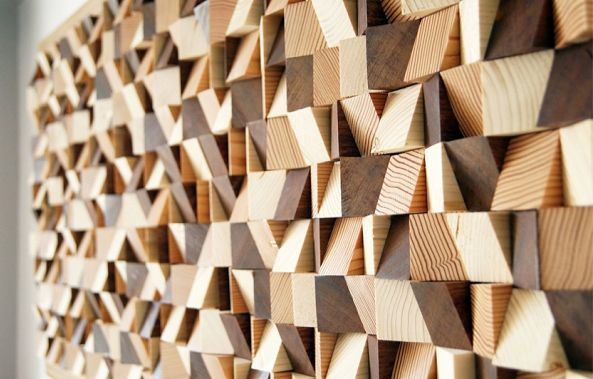 DECORATIVE WALL PANEL-Wood Blocker
