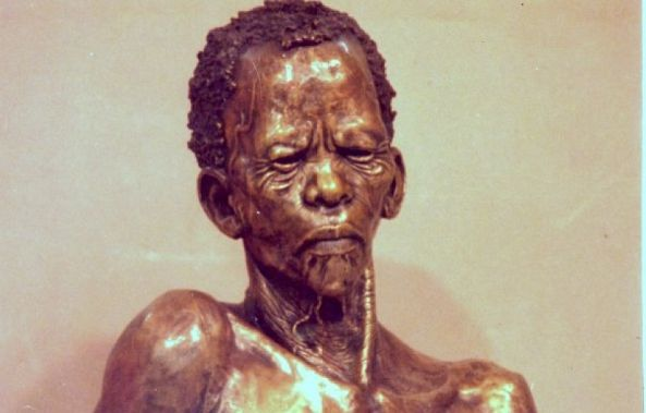 Bushman Portrait-Willem Botha