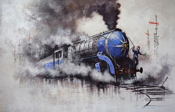 Nostalgia of Steam Locomotives_47-Kishore Pratim  Biswas