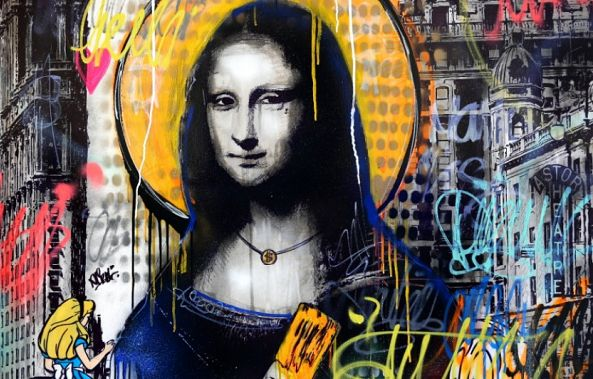Mona Lisa In NYC-Berko .