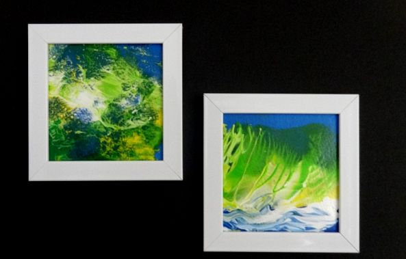 Tropical Paintings Set of 2-fred wilson 3