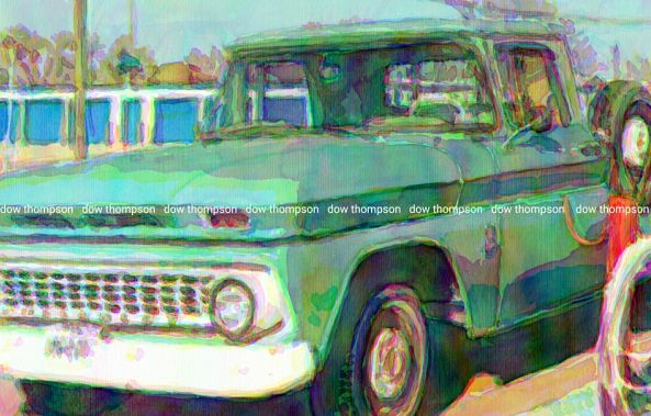Old truck-Dow Thompson