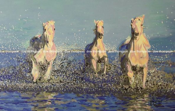 Three Horses-Dow Thompson