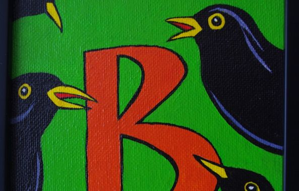 B is for Blackbird-Geoffrey Humble