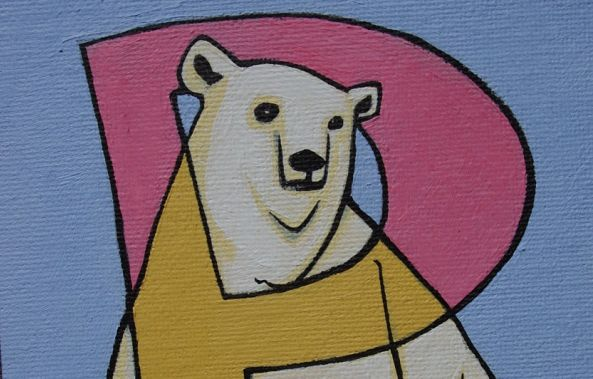 P is for Polar Bear-Geoffrey Humble