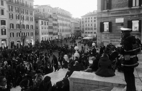 Piazza di Spagna, Décembre 2016-Patrick Witthoff