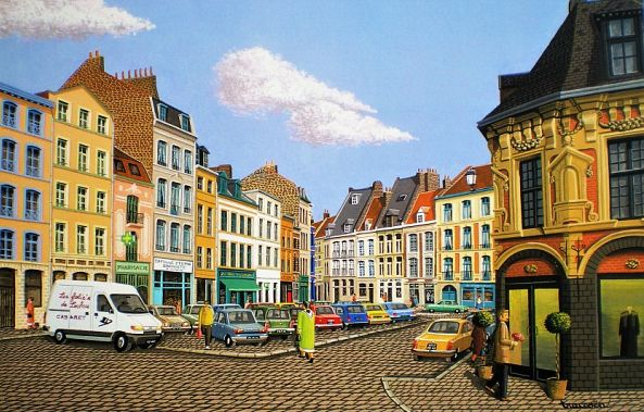 Lille, place louise de bettignies-Thierry Traccoën