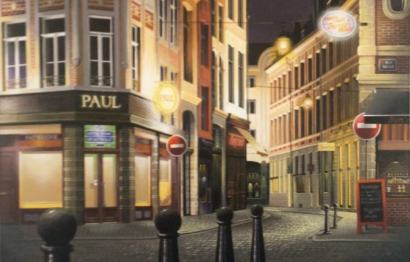 Lille by night-Thierry Traccoën