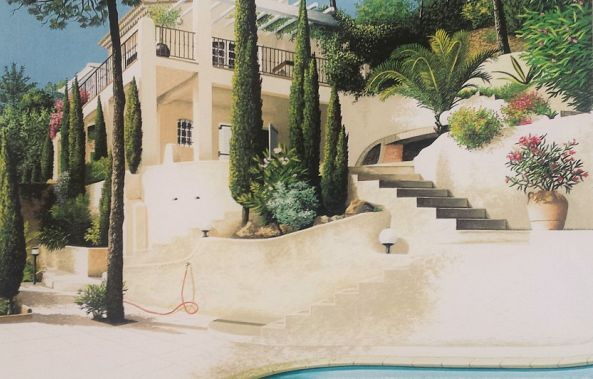 Villa in the French Riviera-Thierry Traccoën