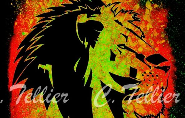 Lion Tribal-Tellier Christophe
