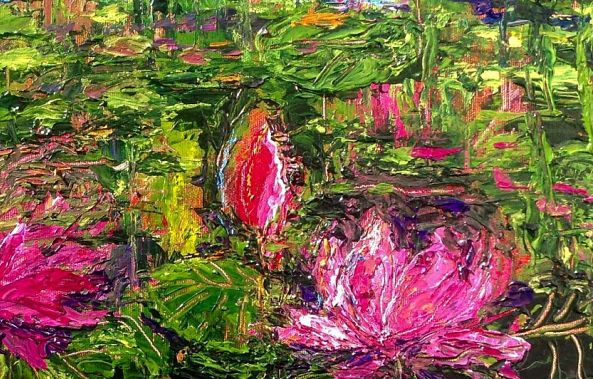 Water Lily Jungle-Ursula Lampron