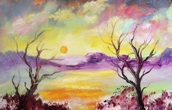 Sunset Trees-Louis Pretorius