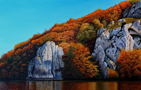 Autumn on the Rocks-Dietrich Moravec
