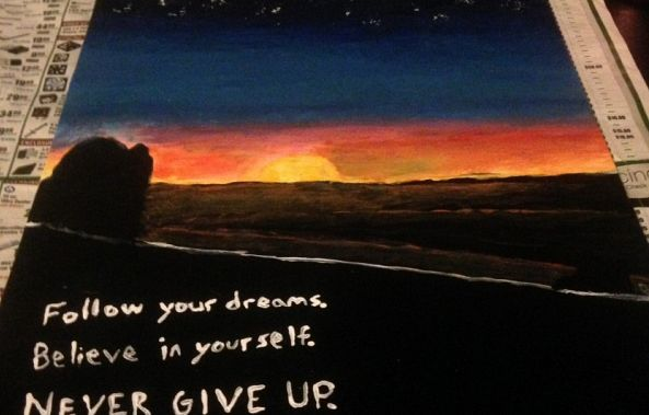 Never Give Up-Brian Majcher