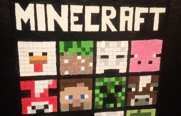 Minecraft Characters -Brian Majcher