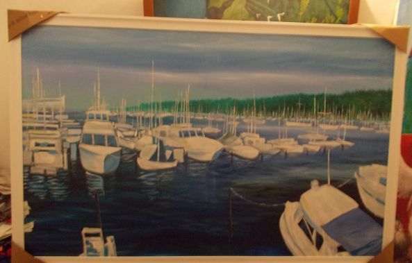 Yachts down the bay-Jason Hendrickson