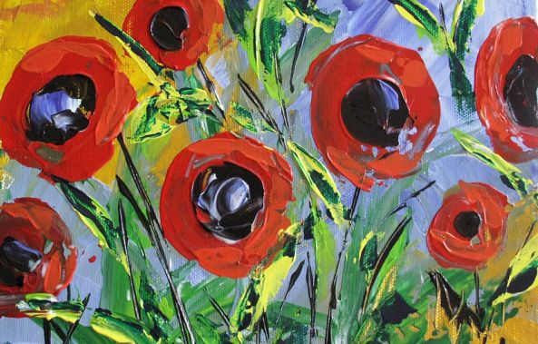 Flanders Poppies-A Cousineau