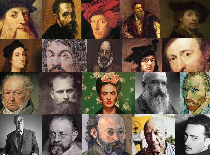 Most influential visual artists of all time