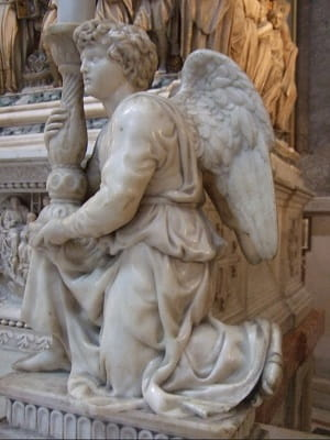 Angel by Michelangelo.