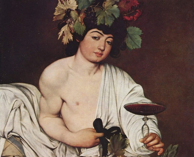 Bacchus by Carravagio
