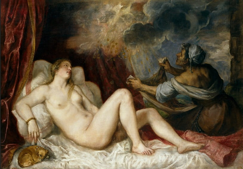 Danaë Receiving the Golden Rain