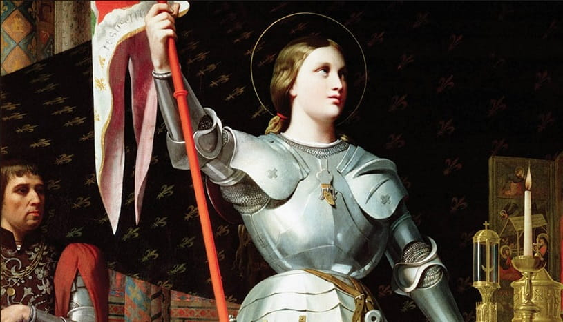 Joan of Arc at the Coronation of Charles.